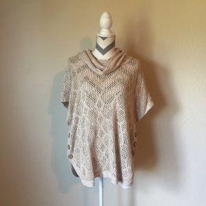 Cj banks knit pullover sweater size 2X/3X